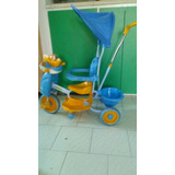 Triciclo Infantil Con Techo, Luces Y Canciones Oferta