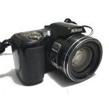 Camara Nikon L100, 10 Mpx, 15x, Completa En Caja!