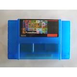 Cartucho Multijuegos 143 En 1 Snes Mario, Zelda, Mega Man