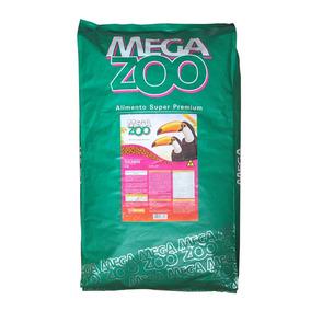 Megazoo Ração Extrusada Para Tucanos (t 19) 12kg