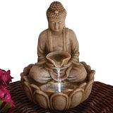 Bits And Pieces - Fuente De Buda De Interior - Zen Tabletop