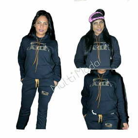 Conjunto Moletom Feminino Oakley Casaco Blusa Calça Moleton 765202baeaa
