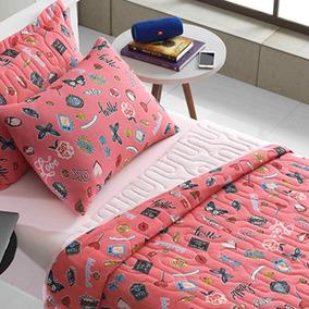 7e13680a60 Quartzo Rosa Tubo Com Solteiro - Roupa de Cama no Mercado Livre Brasil