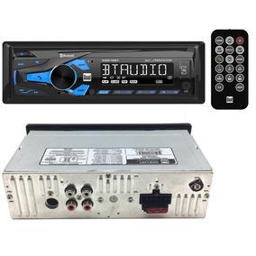 Radio De Carro Bluetooth Usb Americano Control Remoto