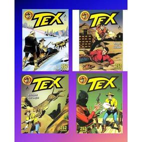 Tex Em Cores N 7, 9, 10,11 (lote) Mythos - Frete Grátis