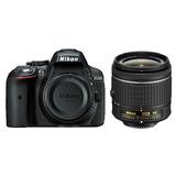 Cámara Nikon D5300 Con Lente Af-p 18-55mm Vr