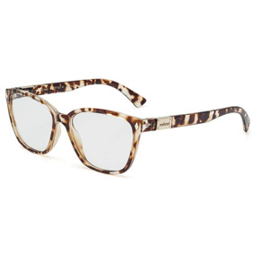 Armacao Oculos Bege Creme - Óculos no Mercado Livre Brasil a1d2533bfa