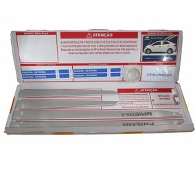 Kit Friso Lateral Prisma Prata Switchblade Gm 98550753