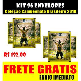 Kit 96 Envelopes Campeonato Brasileiro 2018