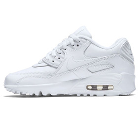 new styles 1bf14 cacea Zapatillas Nike Air Max 90 Leather Blanca Mujer