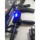 Kit Colt M4 Marcadora Airsoft Spring Bbs 6mm R15 Colt1911