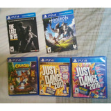Just Dance 2016 2017 Crashtrilogia The Last Of Us Horizo Ps4