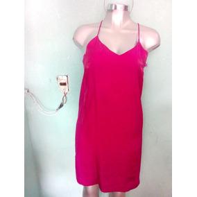 Vestido Zara Rosa Talla Ch