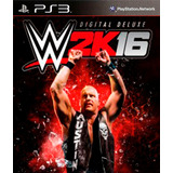 Wwe 2k16 Deluxe Edition Digital Latino Ps3