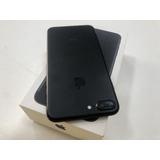 iPhone 7 Plus Preto 32gb Semi Novo Tela Trincada Envio Já