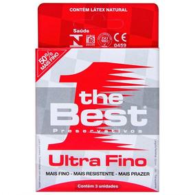 Preservativo Ultra Sensivel Com 3 Unidades The Best Promoção
