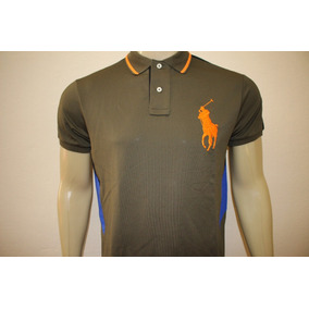 Camiseta Masculina Polo Ralph Lauren Big Pony Performance 9e6575cd093
