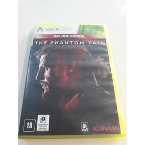 Metal Gear Solid The Phantom Xbox 360 Original Midia Física