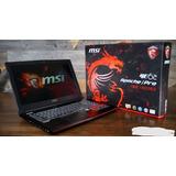 Laptop Gamer Msi Ge 6qd Apache Pro Nvidia 970m Precio Único!