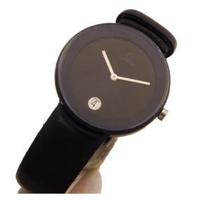 Relógio De Pulso Omega Art Max Bill Em Cerâmica J10220