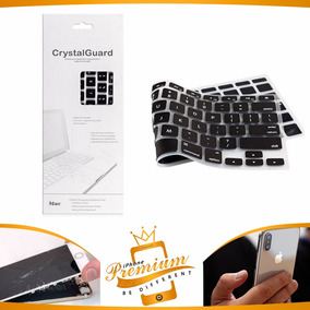 Protetor De Teclado De Silicone Crystal Guard Para Macbook