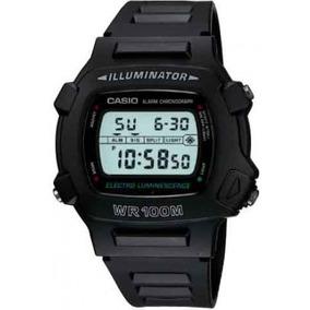 Relógio Casio Digital W-740-1vs Preto