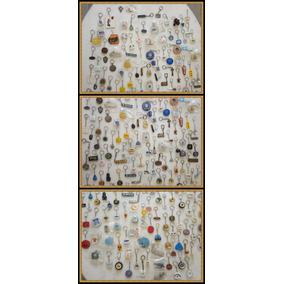 Lote Com 1368 Chaveiros Dos Anos 50, 60, 70 E 80.