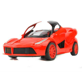 f105de88d4 Carro Radio Control Ferrari Escala 1 16 Luces Abre Puertas
