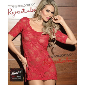 Padrisimo Baby Doll Rojo Talla Chica Marca Tania ea324b00a634