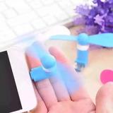 Ventilador Portatil Para Iphone, Ipod, Ipad 5 Colores