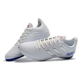 Chuteira Adidas Azul - Chuteiras Adidas de Campo para Adultos Branco ... 6bd9ac9f2f9df