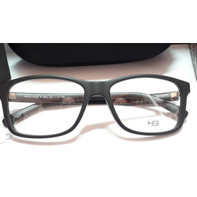 Óculos De Grau Quadrado - Óculos Armações HB no Mercado Livre Brasil a7577c53d2