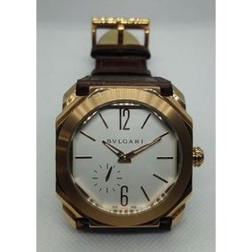 c33329a53faab Reloj Bvlgari Octo Automatico Piel. Envío Gratis!