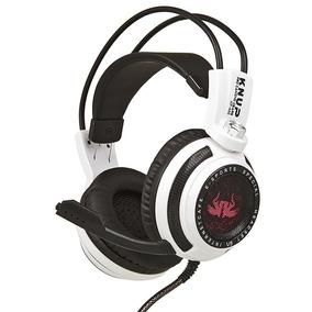 Fone Ouvido Headset Gamer Led Microfone Jogo F51 Frete 59,99