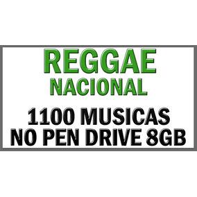 O Melhor Do Reggae Nacional Em Pen Drive Musicas