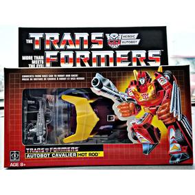G1 Hot Rod Transformers Rodimus Prime Autobot Cavalier 2018