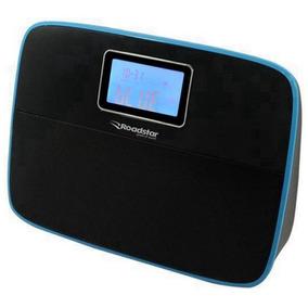 Caixa De Som Portátil Roadstar Time Azul Time-az