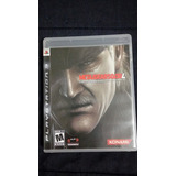 Metal Gear 4 Ps3