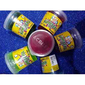 Pote Slime 180gr Kimeleka Art Kids Acrilex X Unidad Colores