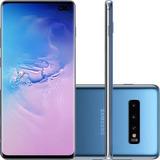 Celular Samsung Galaxy S10 Azul 128gb Dual Chip Tela 6, Nf
