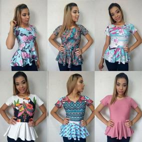 10 Blusas No Suplex Grosso Moda Evangéca