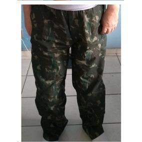 6d7efcdb1e73a Tecido Lona Camuflado - Calças Masculino no Mercado Livre Brasil