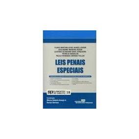 Livro Leis Penais Especiais: Elementos Do Direito - Vol. 18