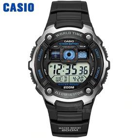 Relógio Casio Ae-2000w-1a Wr-200m Display Queimado