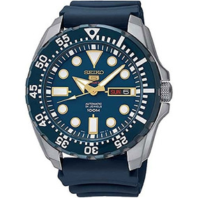 Reloj Seiko Diver Automatic Blue Dial Blue Rubber Mens Watch 8e682c9e93b