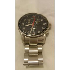 Relógio Victorinox Xls 241198 Muito Bom Estado 45mm Safira