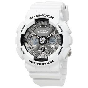 Relógio Masculino De Resina Branco Casio G-shock