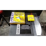 Pokemon Yellow Generico Completo En Caja Nintendo Game Boy
