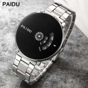 Reloj Hombre Paidu Metal.pila Sony+ Envío Gratuito