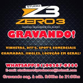Gravação Carros De Som, Vinheta, Etc Voz+trilha
